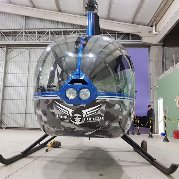 Personalização de Veículos Helicóptero