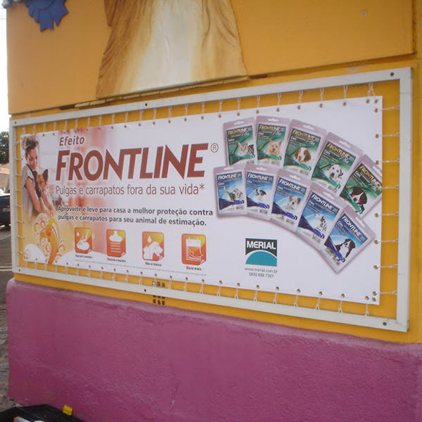 placa lona frontline